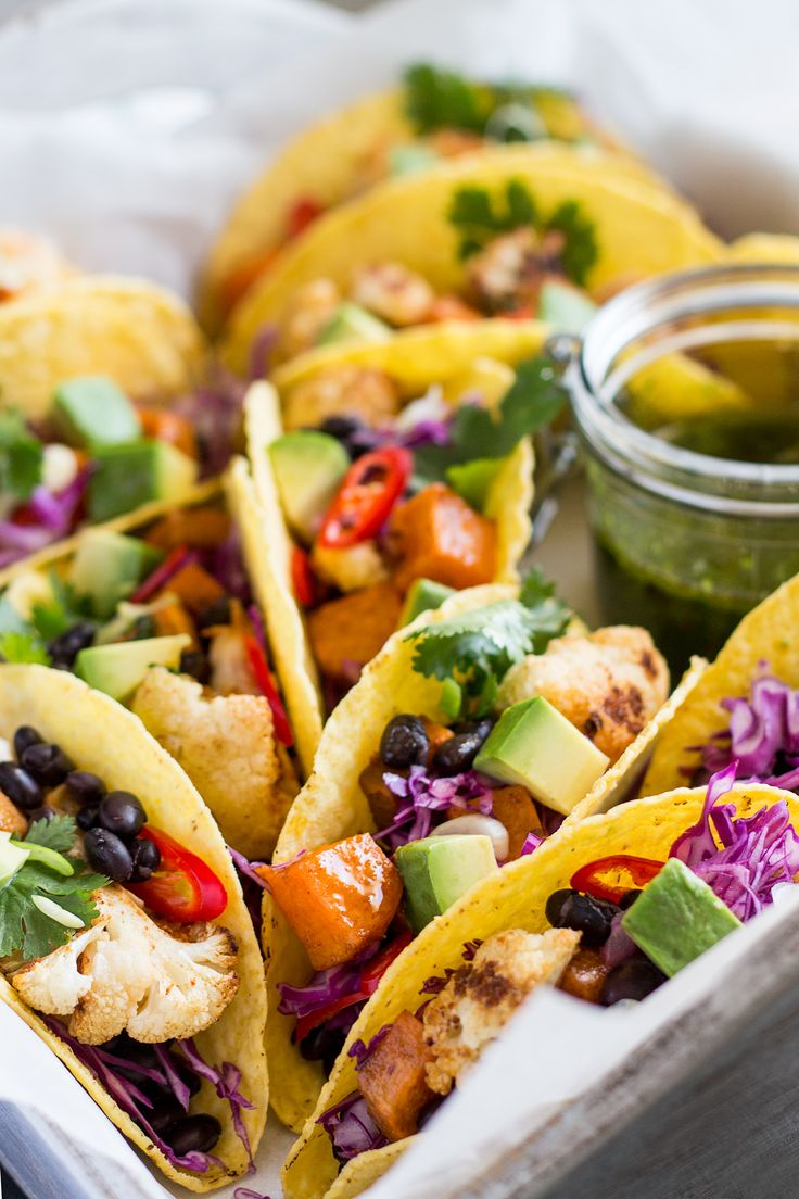 Winter tacos with chimichurri sauce Recipe Lazy cat