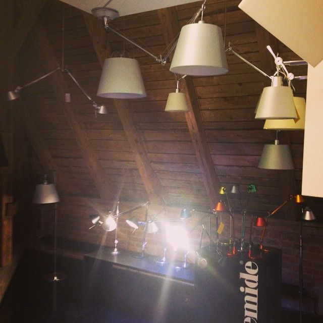 #artmide #artemideshowroom #lights #lightborn #design #tolomeo #tolomeomega #prague #holesovice