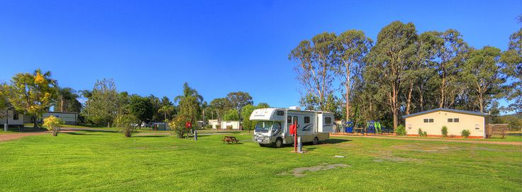 Big open spaces at BIG4 Karuah Jetty Holiday Park