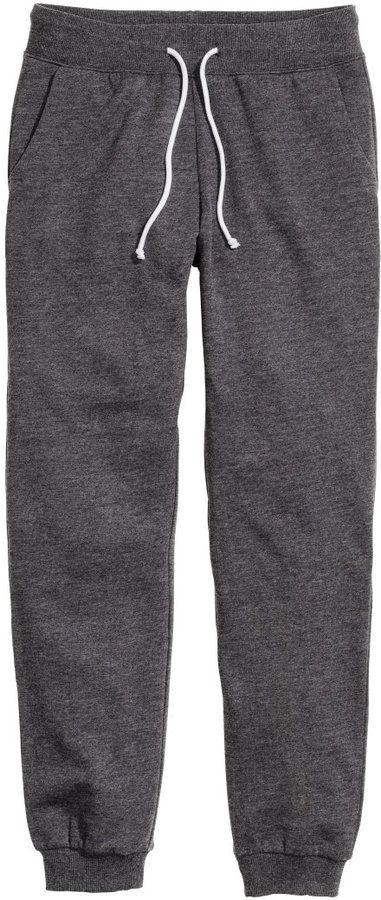 H&M Sweatpants - Dark gray