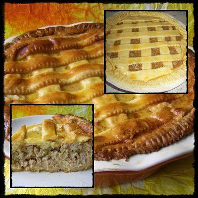 Csilla konyhája, mert enni jó!: Húsos burgonyás pite