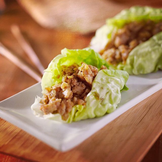 Been working hard on my new cookbook and this recipe for Asian Lettuce Wraps is one of my favorites! #mykitchenescapades #cookbook . . . . #chicken #lowcarb #wholefoods #healthyfood #instagood #buzzfeedfood #feedfeed #thefeedfeed #huffposttaste #foodprnshare #droolclub #f52grams #sweetmagazine #tastespotting #kitchenbowl #foodgawker #buzzfeast #bhgfood