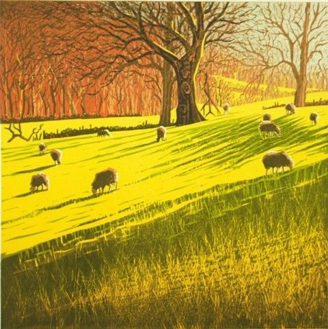 Mark A Pearce - original linocut prints | Mark A Pearce