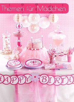 Tolle Kindergeburtstags-Deko, Accessoires für das Geburtstagskind und seine Gäste, passendes Backzubehör. Kostenlos: Trusted Shops Käuferschutz.