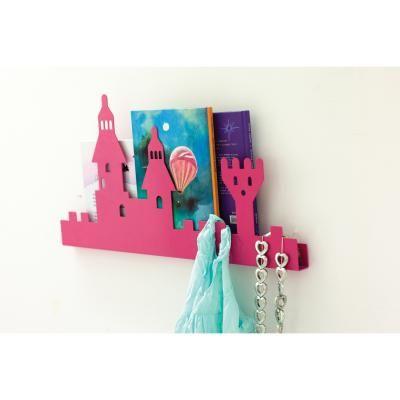 Castle hylle, rosa i gruppen rom / barnerom / innredningdetaljer ...