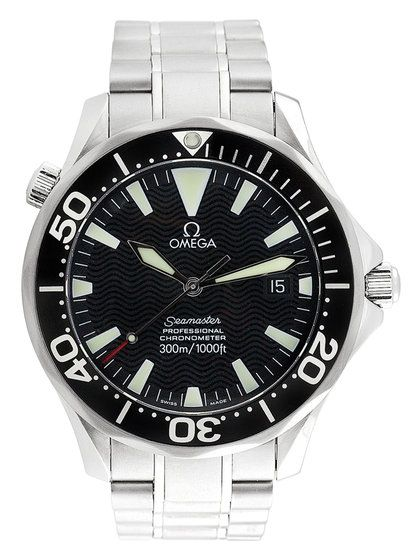 Omega Seamaster Professional Chronometer Quartz Watch by Omega at Gilt
