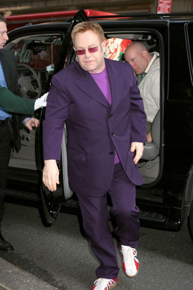 9fd4e5bc8e Elton John s Best Shoe Style Through the Years