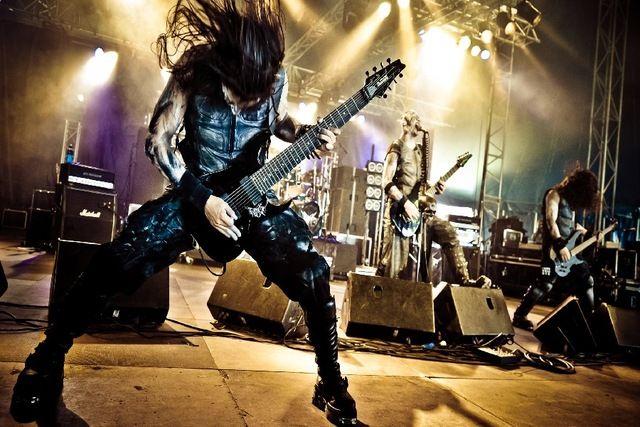Otargos черный металл тяжелый концерт гитарной музыки на ткани ткань шелковый плакат печать