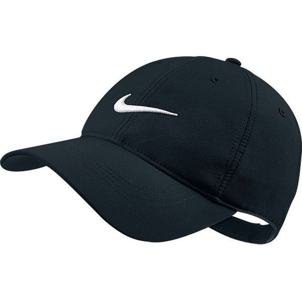 Nike Tech Swoosh Cap ($18) ❤ liked on Polyvore featuring accessories, hats, sport caps, nike cap, nike hats, nike and caps hats