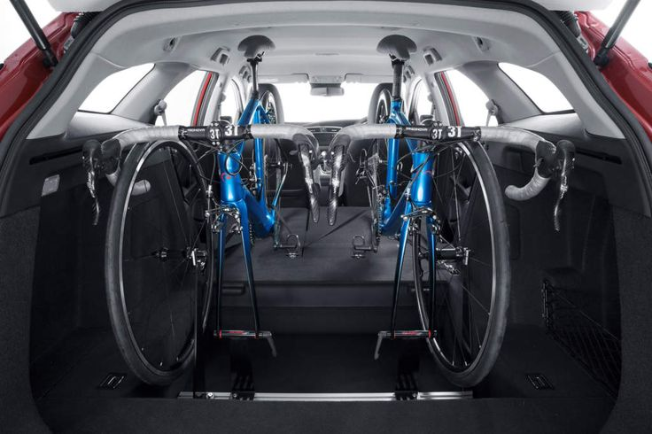 New Honda Civic Tourer now available with in-car bike rack