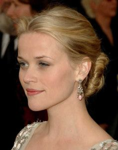 25 trending reese witherspoon hairstyles ideas on pinterest reese witherspoons elegant bun hairstyle pmusecretfo Gallery