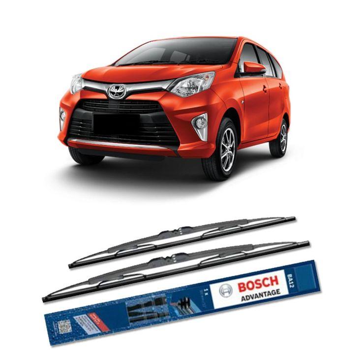 """Bosch Sepasang Wiper Mobil Toyota Calya - Advantage 20"""" & 14"""" - 2 Buah/Set  Umur Pakai & Daya Tahan Lebih Lama Penyapuan kaca yang senyap Performa Sapuan Optimal Instalasi Mudah & Cepat Original Produk Bosch  http://klikonderdil.com/with-frame/1240-bosch-sepasang-wiper-mobil-toyota-calya-advantage-20-14-2-buahset.html  #bosch #wiper #jualwiper #toyotacalya"""