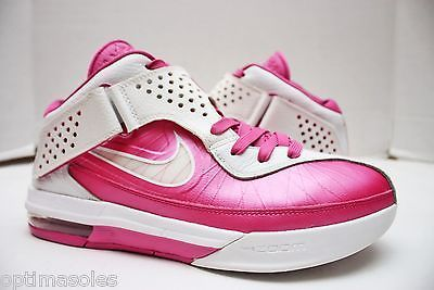 Nike Lebron Soldier V 5 Size 10 - White Pink - Breast Cancer ...