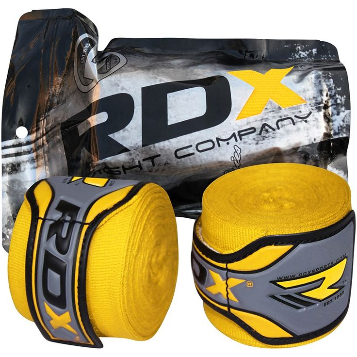 RDX extra thick Hand Wrap is meant for added protection and is with integrated with quick-ez Velcro closure system, woven carbon fibre, and other enhanced features for added utility.