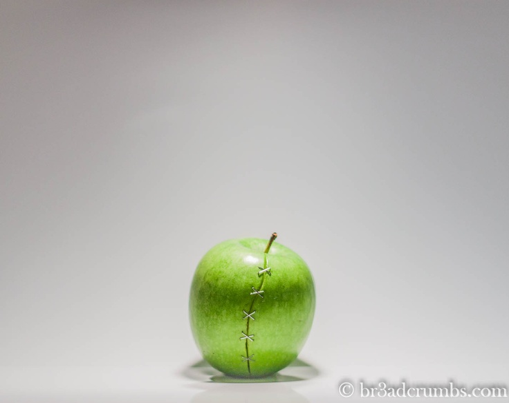 Patched apple