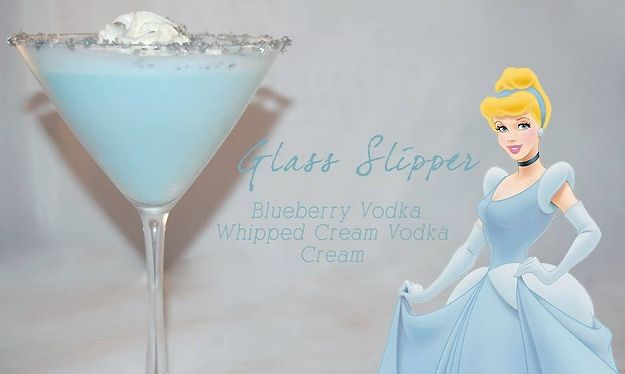 Cocktails in style with your favourite  Disney character