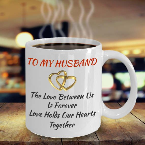 Anniversary Birthday Gifts For Husband Men Him Love My Husband Color Changing Coffee Mug Man Women Dad Father Grandfather