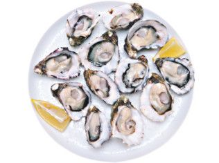 7mg iron = 12 OYSTERS