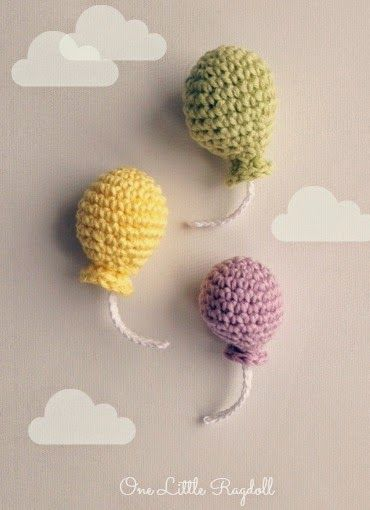 Balloons with a pattern by One Little Ragdoll