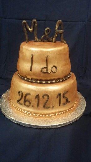 Wedding cake by  Konstantina Chalkia