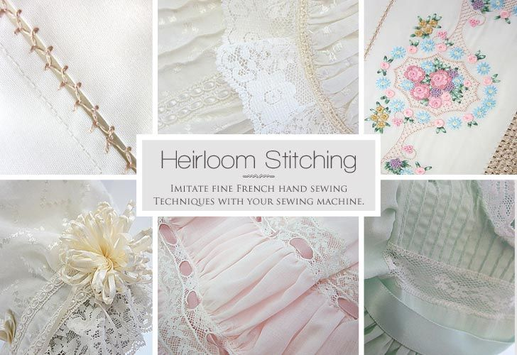 heirloom sewing