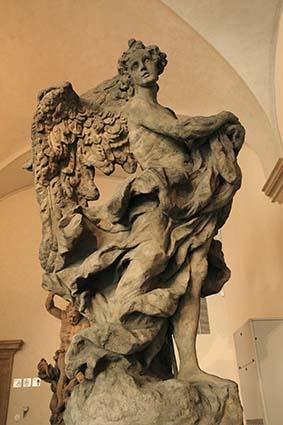 Mathias Bernhard Braun - Angel 1(1717-1718),sandstone,245cm,Prague-National gallery