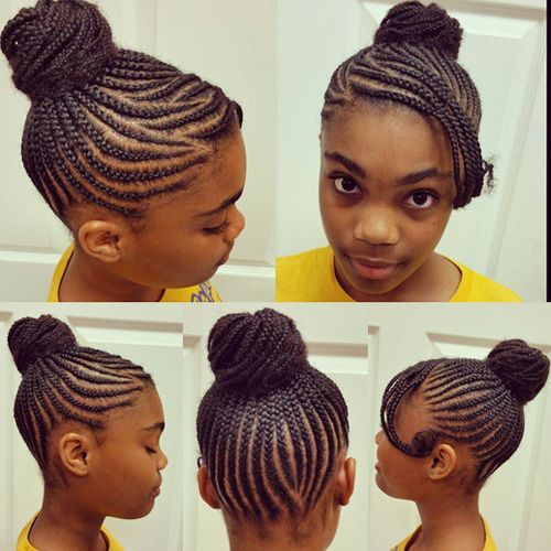 hair style for kid the 31 best children s braids images on black 7557