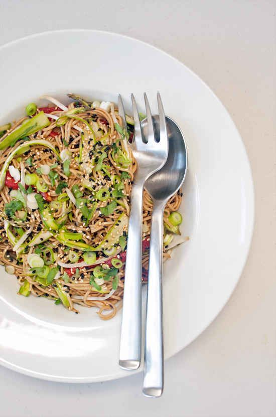 Sesame-Ginger Soba Noodle Salad | 27 Awesome Easy Lunches To Bring To Work