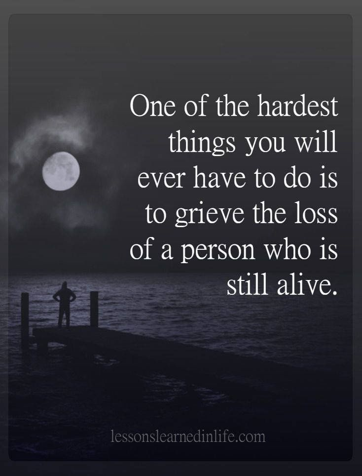 losing someone important At a loss: how losing a loved one can help you take stock of what really  it's  important for others to stop and take stock of the value of life and.