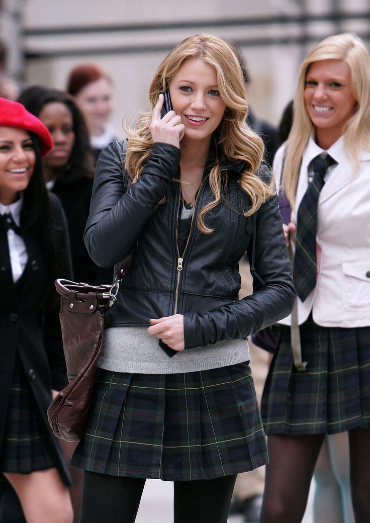 blake lively gossip girl uniform wwwpixsharkcom