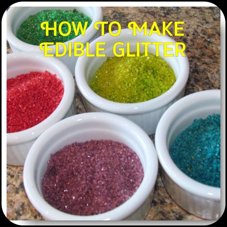 how to make edible diamonds sparkle