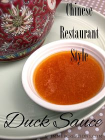 Homemade Chinese Restaurant-Style Duck Sauce Recipe from glimmercreations.com