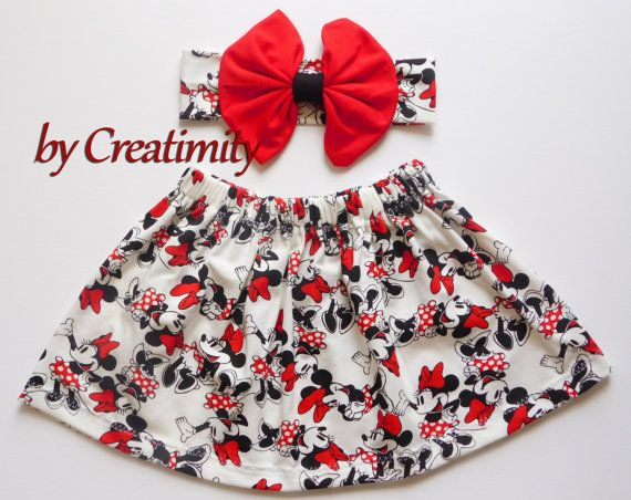 Check out this item in my Etsy shop https://www.etsy.com/listing/385377246/minnie-baby-girl-skirtminnie-girl