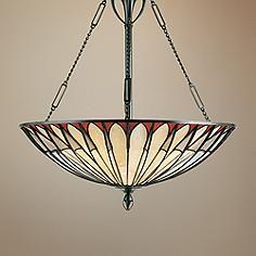 Alhambre Tiffany Style Pendant Chandelier