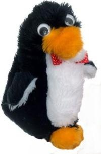 Mr. Flibble, The Red Dwarf Penguin! (I believe he only appeared in one episode)