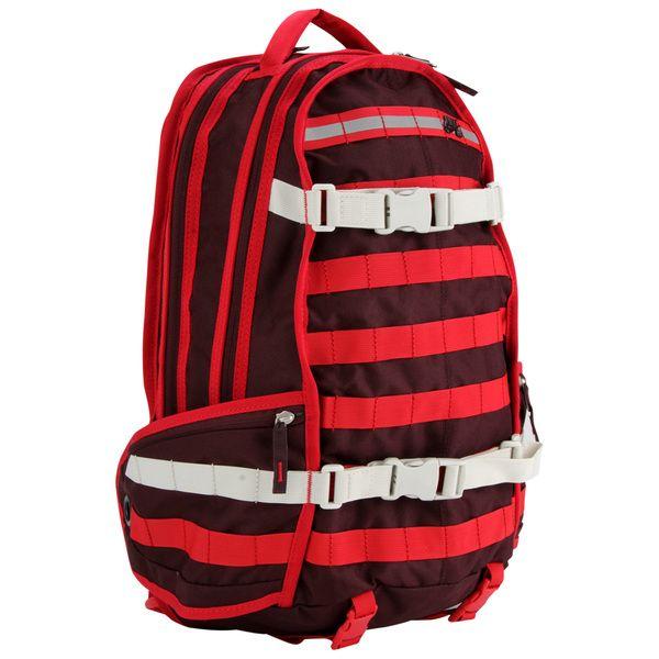 Mochila importada da marca Nike SB, modelo RPM Backpack Vermelha/Refletivo.