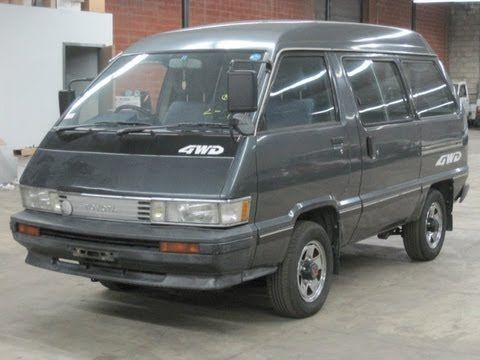 1987 Toyota TownAce 4WD turbo diesel SOLD