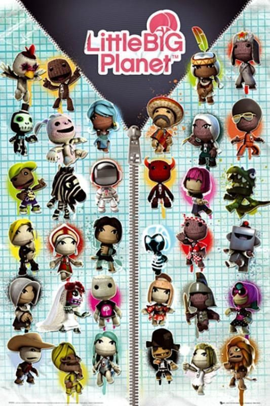 Little Big Planet : Compilation - Maxi Poster 61cm x 91.5cm (new & sealed)