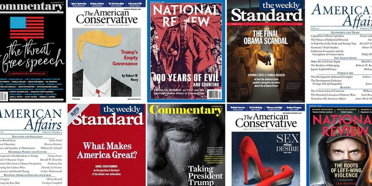 President Trump has scrambled the very meaning of conservatism. Now, a small group of intellectual publications are enjoying a golden age.