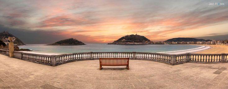 Espectaculares imágenes de San Sebastián