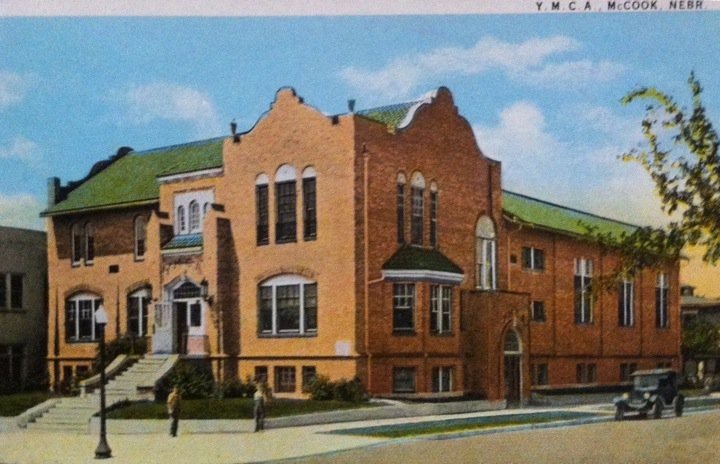 McCook Old YMCA...home of Nebraska's first Junior College in 1927. Oh, the good times here; dances after the football games.