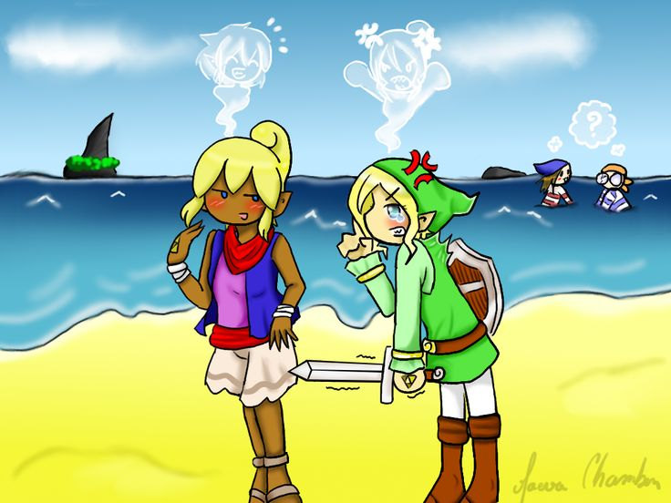 Commission 2: Zelda wind waker Chuuuuuutttt by Spirit-Zelda97