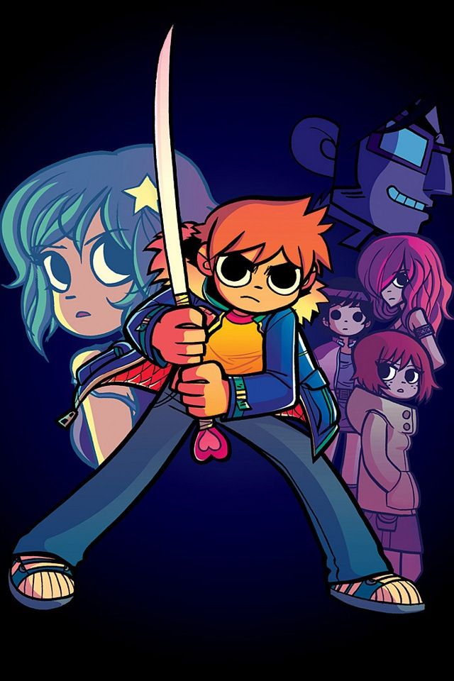 Scott Pilgrim by Bryan Lee O'Malley Proving that comic books can have simplistic Art Style