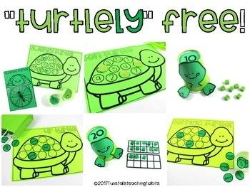 Get this 'turtley' FREE fun freebie!  This free resource includes free math games, a free phonics game, and a free behavior management activity.  Perfect for Kindergarten, first grade, and second grade.   www.tunstallsteachingtidbits.com