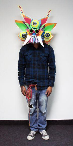 Máscara Diablada on Behance