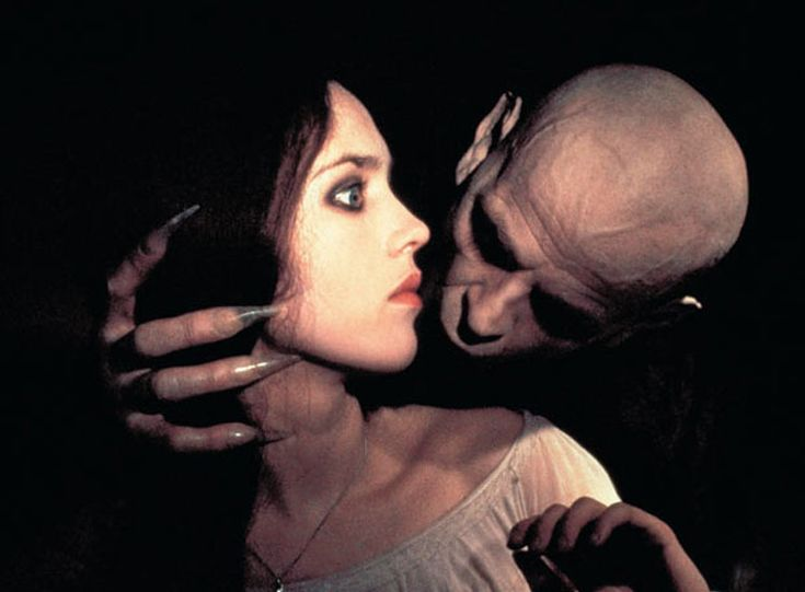 Isabel Adjani and Klaus Kinski in Nosferatu the Vampyre (1979), dir. Werner Herzog