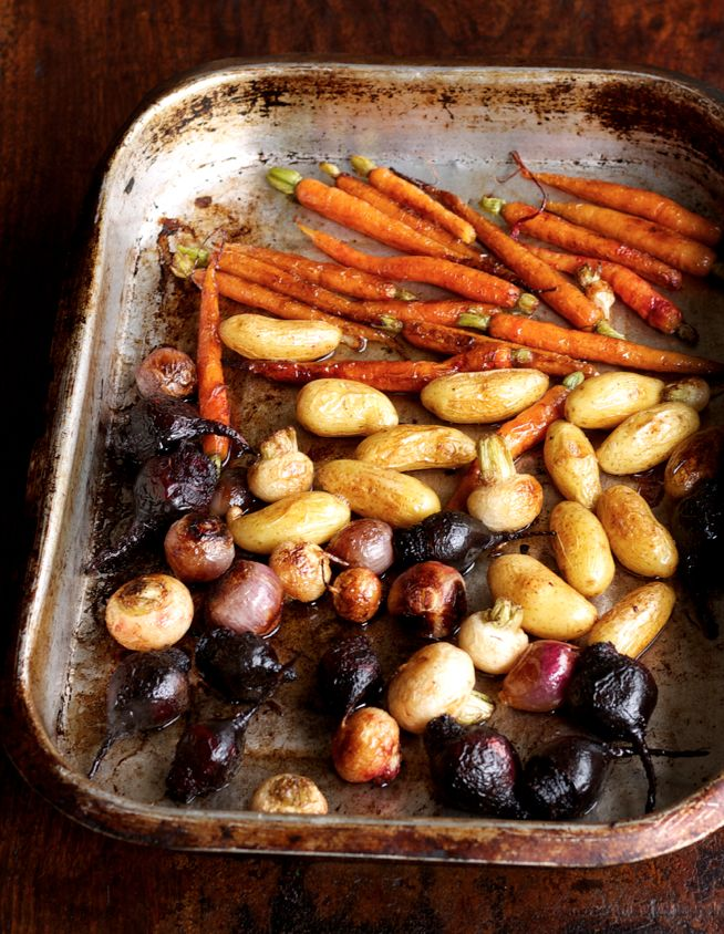 Roasting baby vegetables brings a subtle sweetness and tasty flavour to accompany any main. http://fooddaily.com.au/