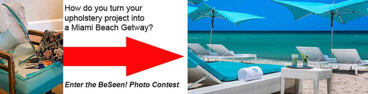 Congratulations to Denise McGaha the monthly winner of a $50 FabricSeen gift card! She is now in the running to win a Miami vacation package at Trump International Beach Resort!   If you think your fabric design has what it takes to win, enter it in the BeSeen Contest: http://fabricseen.com/17291-2/!