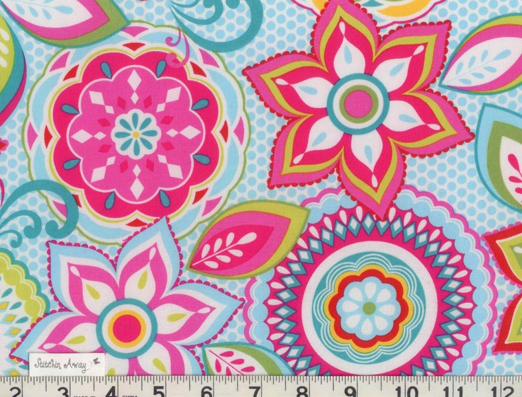 Bright And Cheerful Collection Fabric New 100 Cotton