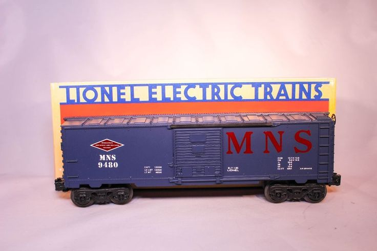 LIONEL Minneapolis, Northfield & Southern Box Car 6-9480 NIB #Lionel